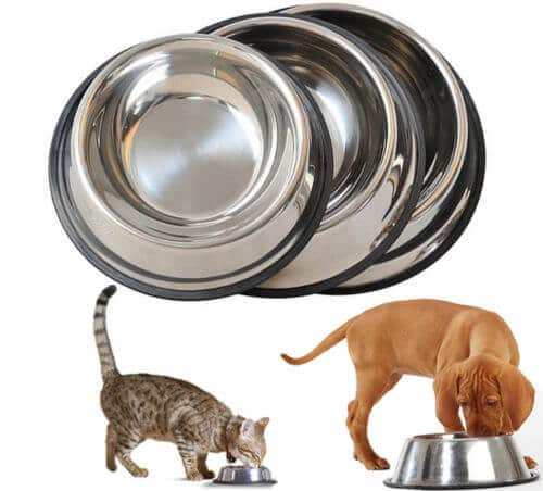 Buy Stainless Steel Feeding and Water Cat & Dog Bowl from petsasa pet store in Nairobi Kenya