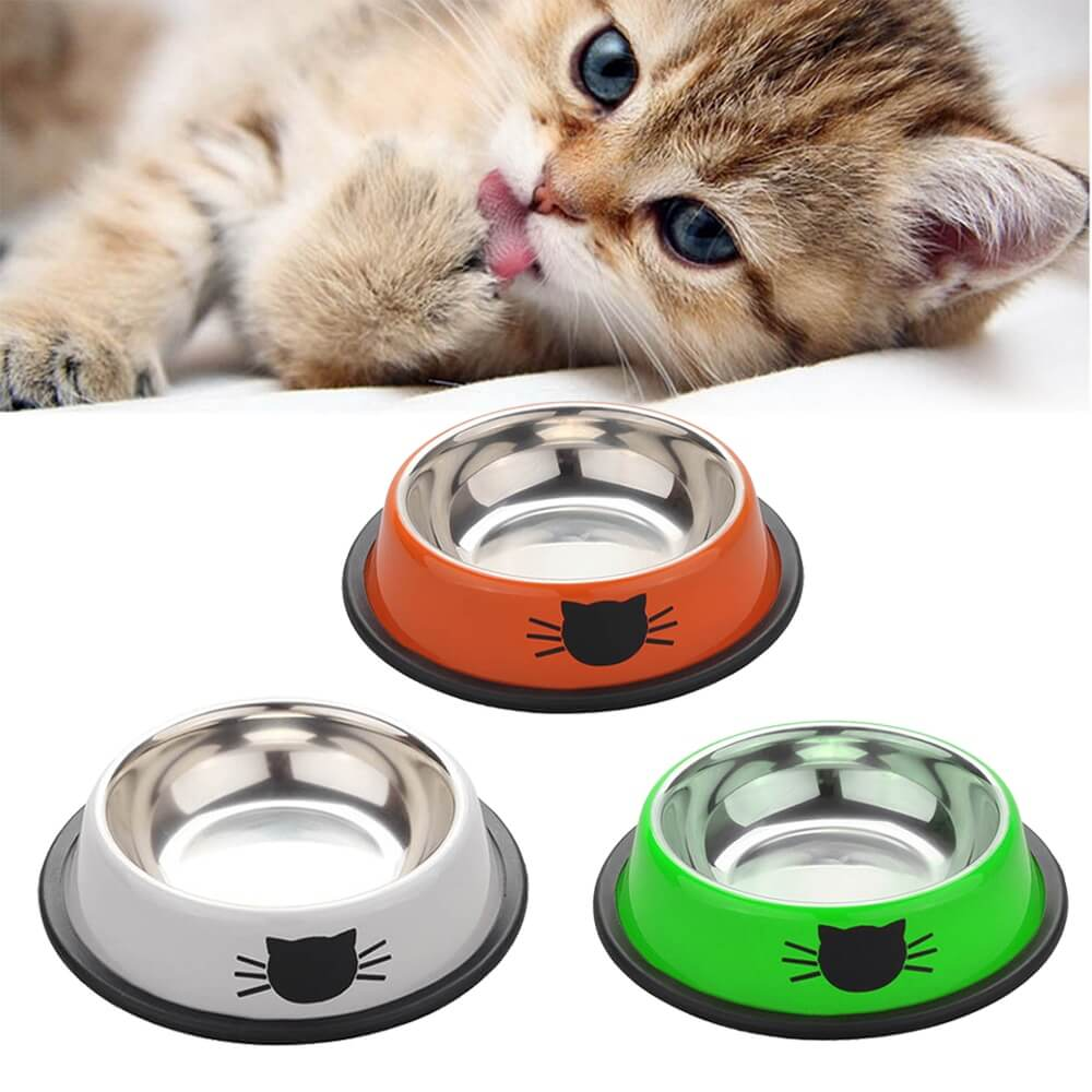 KittyPro Cat Food and Water Bowl