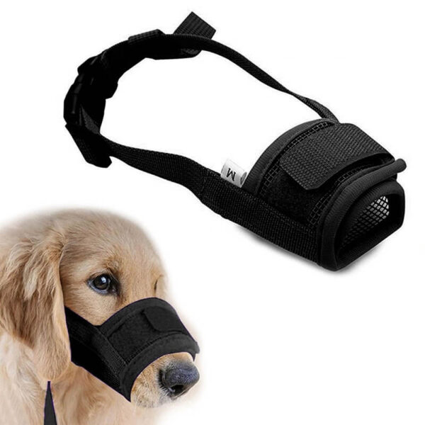 Buy-Dog-Muzzle-for-Small-Large-Dogs-Adjustable-Pet-Mouth-Muzzles-for-Dogs-In-Nairobi-Kenya-On-Spawtive.co.ke