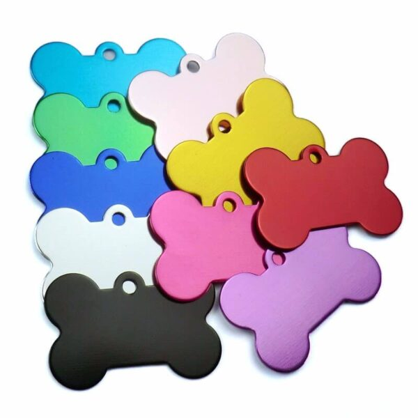 Buy Double sided soft Name ID Tag for pet dog or cat on SPawtive.co.ke