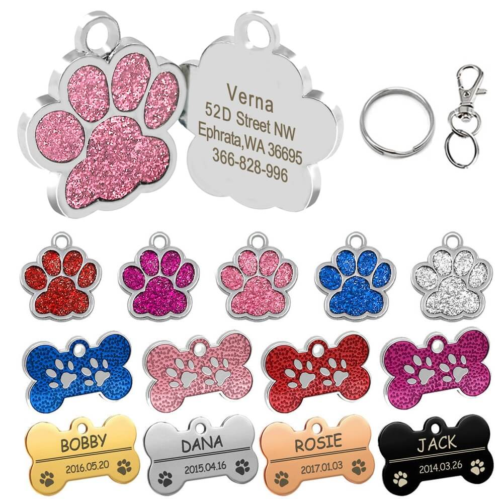 Buy customised pet ID Collar Name Tag for pet cat dog in Kenya on spawtive.co.ke.jpg