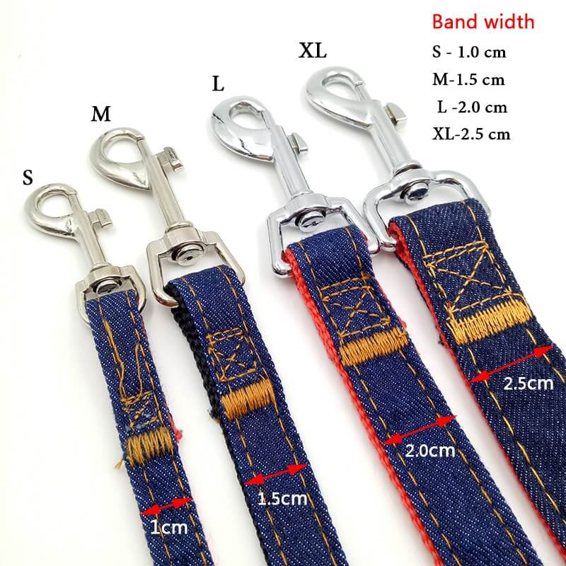 Buy durable Military Grade Denim big and small dog Leash in Kenya online on spawtive