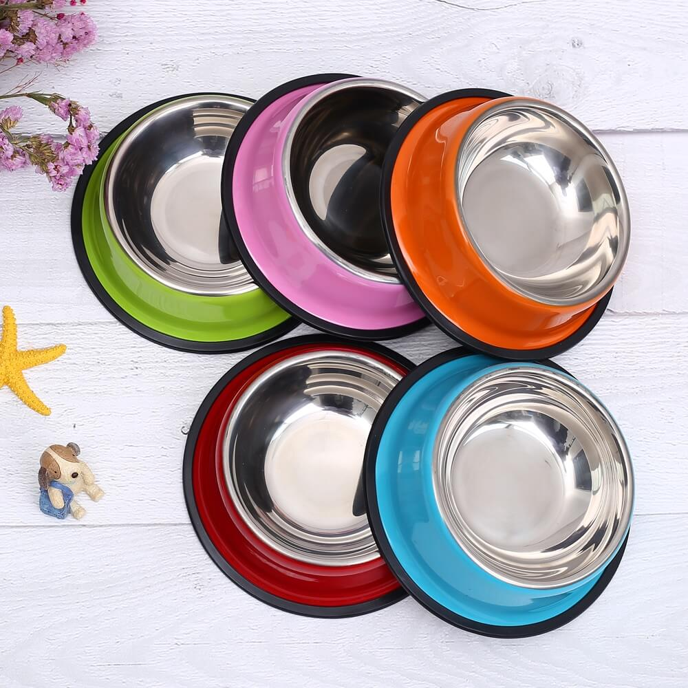 Pet-Cat-Dog-Bowl-Stainless-Steel-Pet-Food-Feeder-for-Small-Medium-Dogs-Cats-Dog-Drinking-Water-In-Kenya
