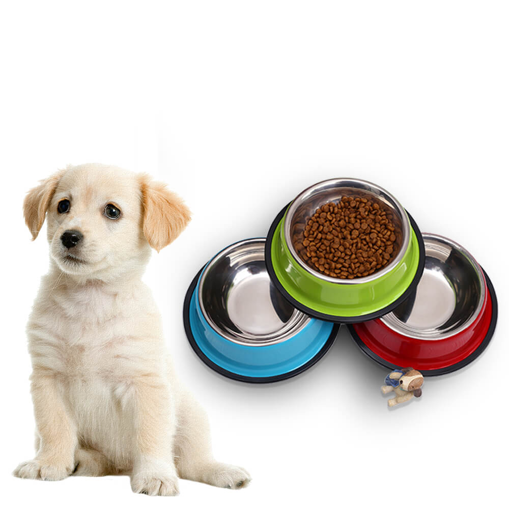 Stainless-Steel-Pet-Food-Feeder-for-Small-Medium-Dogs-Cats-Dog-Drinking-Water-In-Nairobi-Kenya