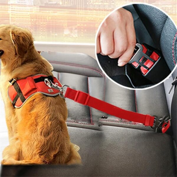 Buy Adjustable Dog Car Seat Safety Belt in kenya