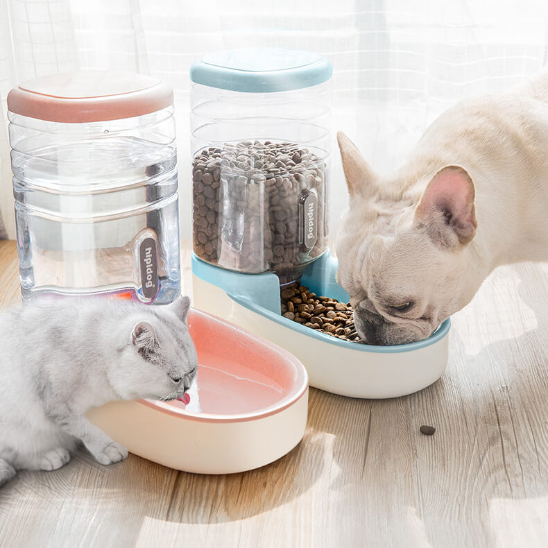 Buy Automatic Pet Food and Water Feeder for Dogs and Cats in kenya