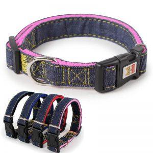 Military Grade Denim Dog Collar