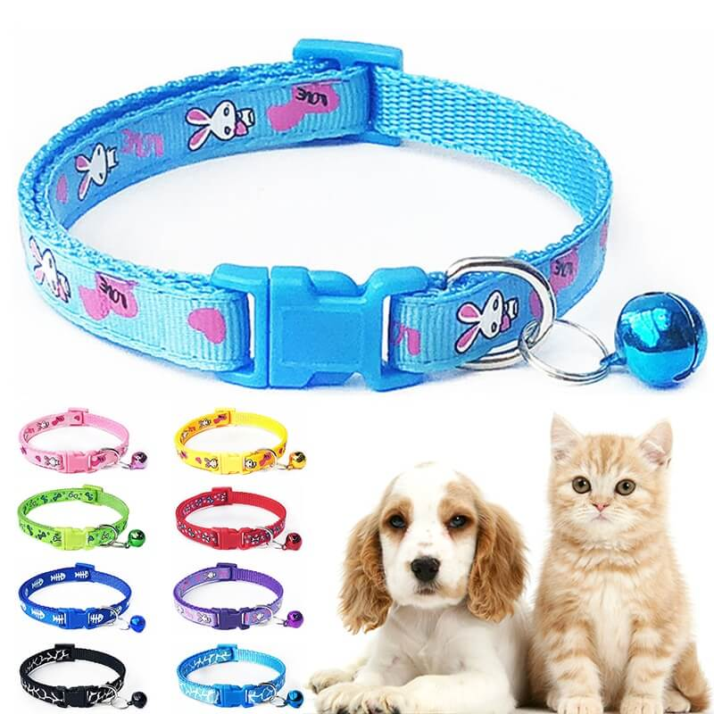 Pet-Collars-Cat-Puppy-Adjustable-Polyester-Necklace-Lovely-With-Bells-Print-Cat-Dog-Necklace-Nairobi-Spawtive-Kenya
