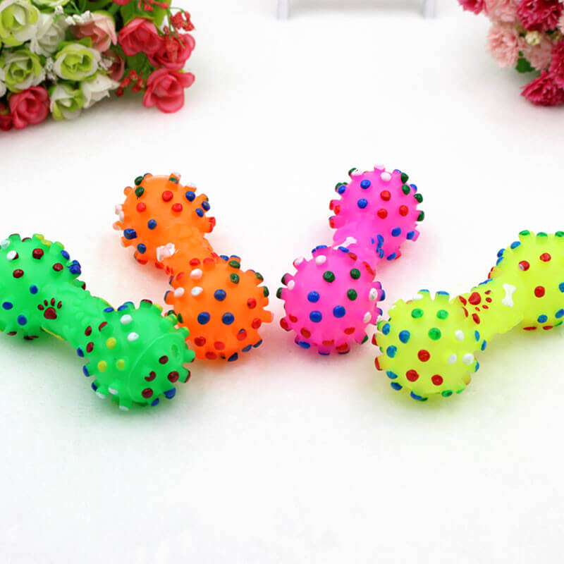 Pet-Dog-Cat-Puppy-Sound-Polka-Dot-Squeaky-Toy-Rubber-Chewing-Dog-Toy-In-kenya-SPawtive.co.ke