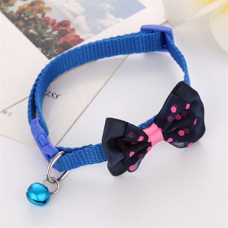 Pet-N ecktie-Collar-Cute-Bow-Tie-Bell-Cat-Kitten-Puppy-In-Kenya-On-Spawtive