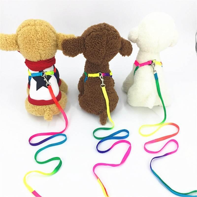 Walking-Dog-Harness-Lead-Leash-Dog-Collar-Pet-Durable-Traction