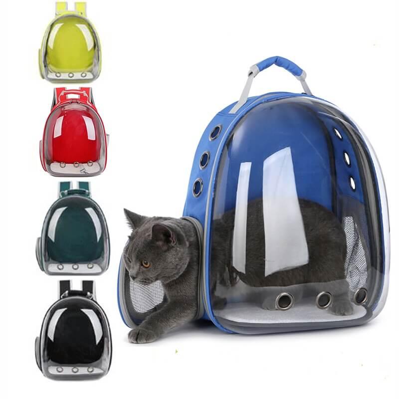 spawtive-cat-Carrier-Breathable-Bag-Portable-Pet-Outdoor-Travel-Transparent-Capsule-Backpack-in-kenya
