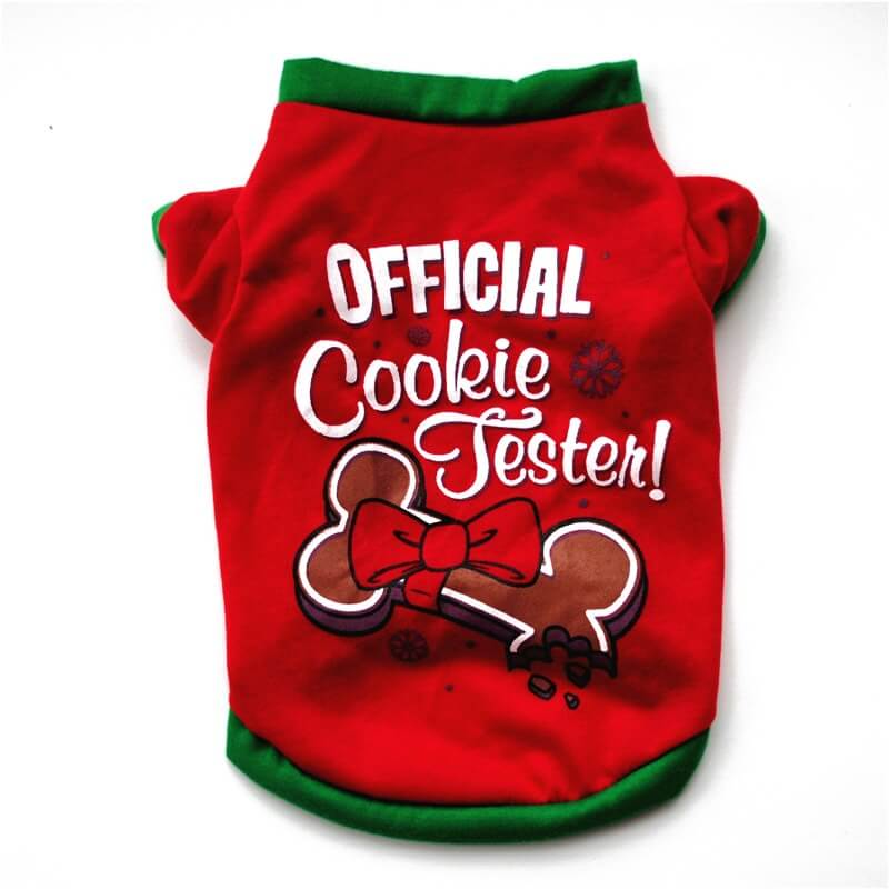 Best Christmas Cookie Festival Top for Dogs and Cats