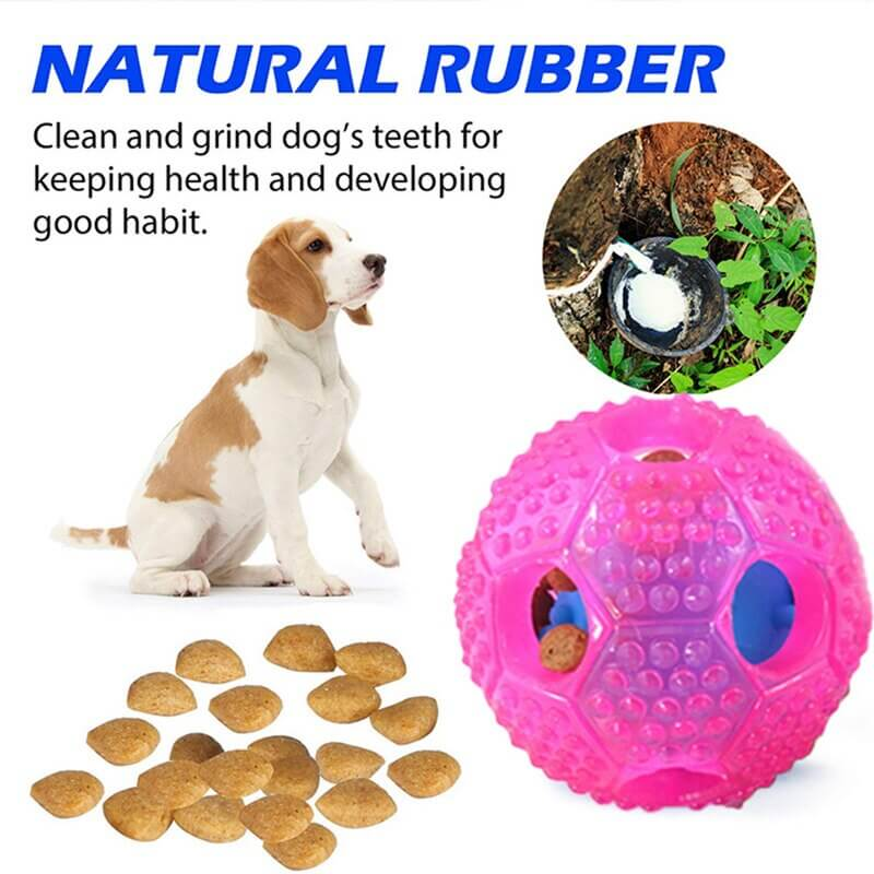 Buy Interactive Slow Food and Teeth Cleaning Throw Ball Dog Toy in Kenya