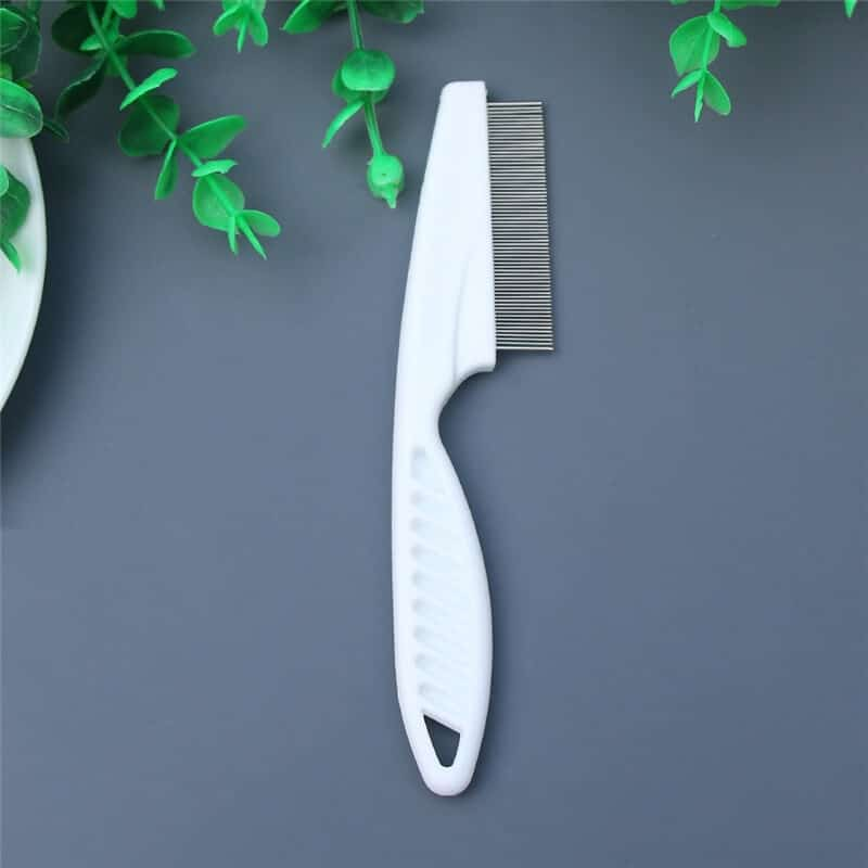 Buy Pet Dog Hair Flea Comb Stainless Steel Pin Dog Cat Grooming Brush Comb Cleaning Tool in Kenya