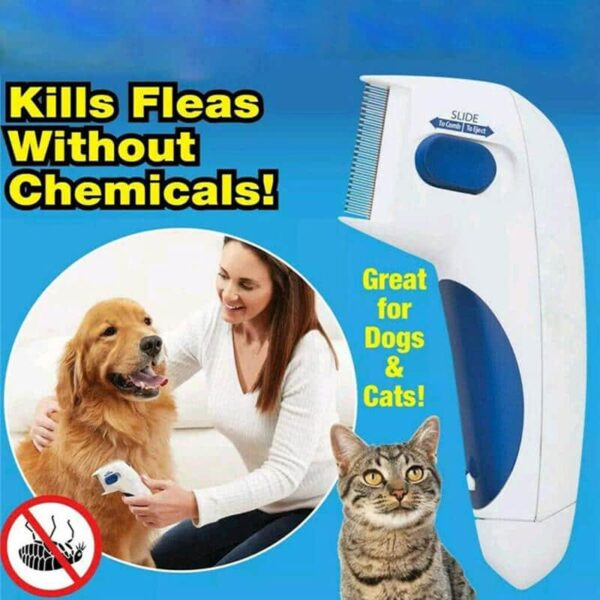 Flea Doctor Electronic Flea Comb for Dogs & Cats in Kenya