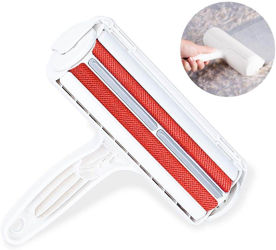 Petsasa Pet Hair Remover Roller - Dog & Cat Fur Remover with Self-Cleaning Base - Efficient Animal Hair Removal Tool - Perfect for Furniture, Couch, Carpet, Car Seat in Kenya