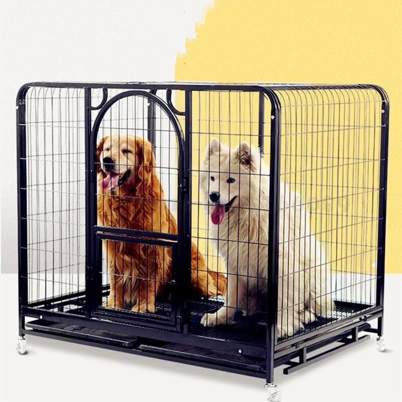 Petsasa-Dog-Cage-Large-Dog-Indoor-Golden-Hair-Labrador-Samo-Medium-Dog-Cage-with-Toilet-Small-Dog