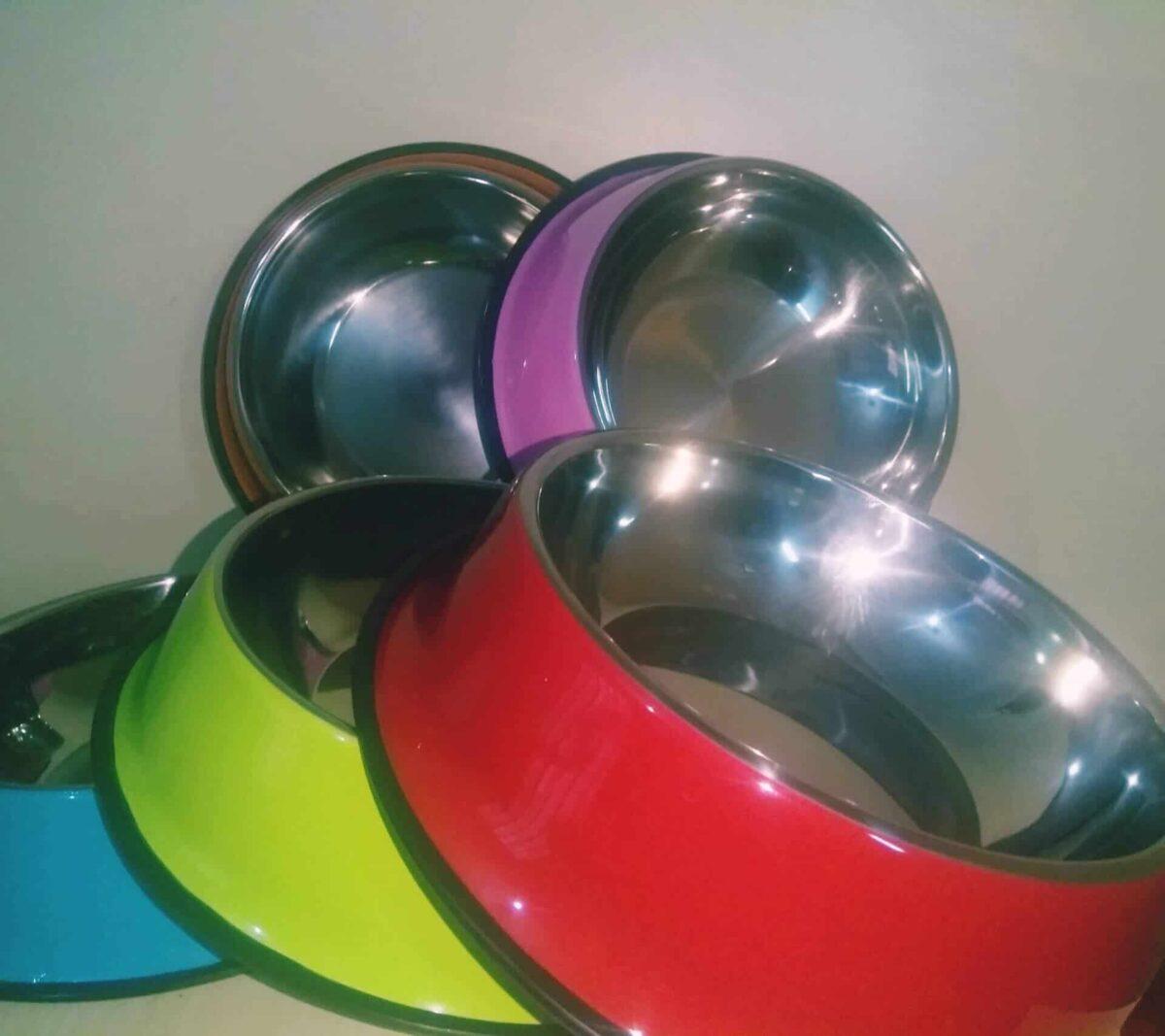 Petsasa Large Dog Food and Water Bowl