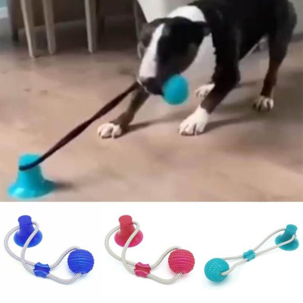 Petsasa Dog Tug Pulling Fitness Bite Dog Fitness Toy