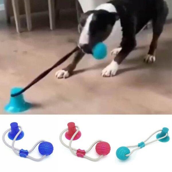 Petsasa Dog Tug Pulling Fitness Bite Dog Fitness Toy