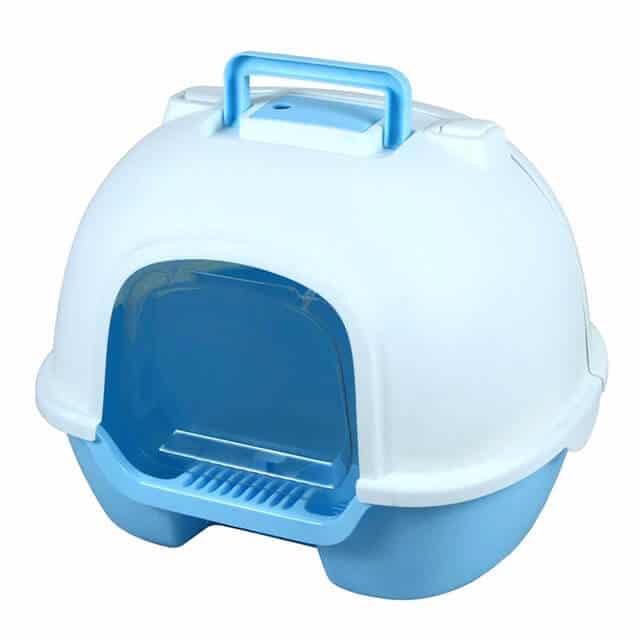 Petsasa Enclosed Cat Litter Box with Air vent and Swing Door in kenya nairobi