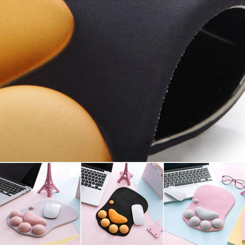 Buy Cat Lovers Gift Cute Paw Nonslip Silicone Mouse Pad in Kenya