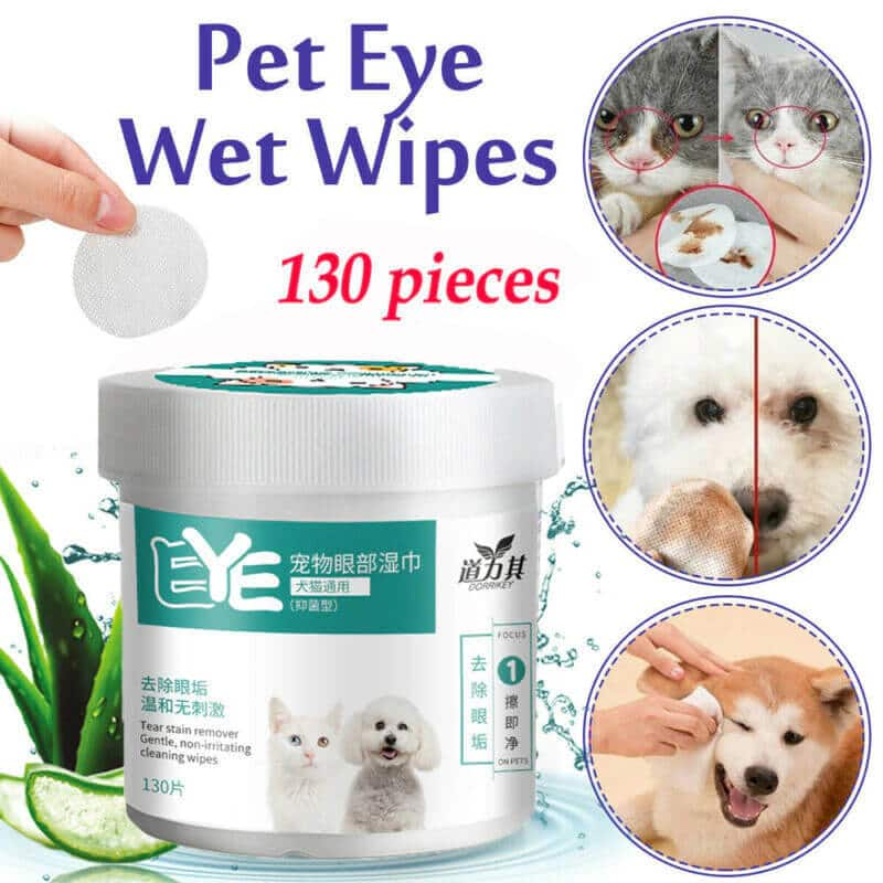 Buy Pet Tear Stain Remover Grooming Wet Wipes in Kenya