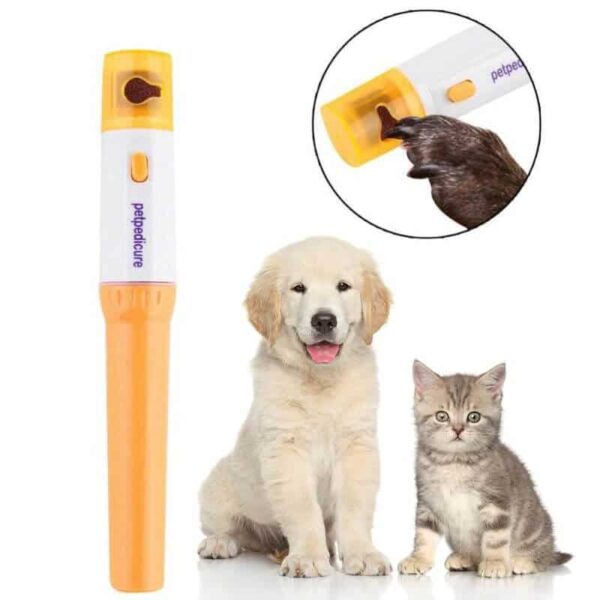 PetSasa Pedicure nail grinder for cats and dogs pet claw nail trimmer in Kenya