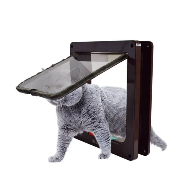 Buy 4 Way Lockable Cat & Dog Pet Flap Door in Kenya on Petsasa