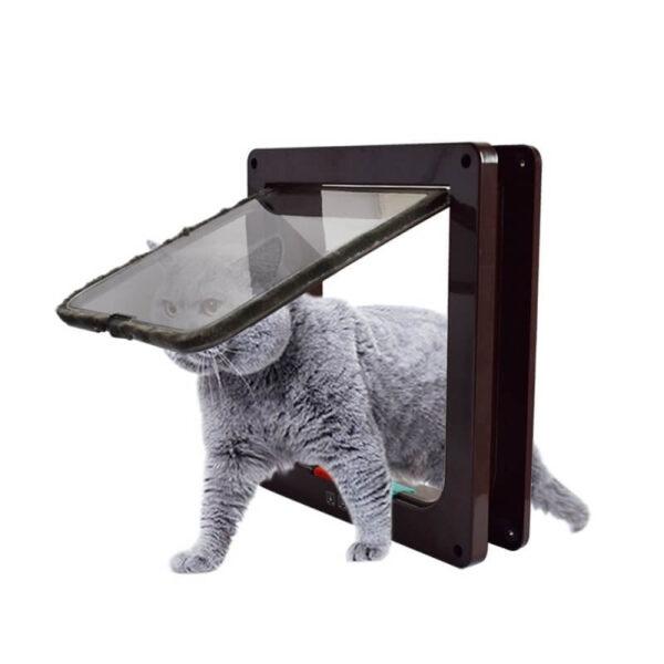 Buy 4 Way Lockable Cat & Dog Pet Flap Door in Kenya on Petsasa