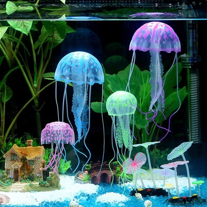 Buy Petsasa Artificial Glowing Jellyfish Aquarium Fish Tank Ornament Decor in Kenya