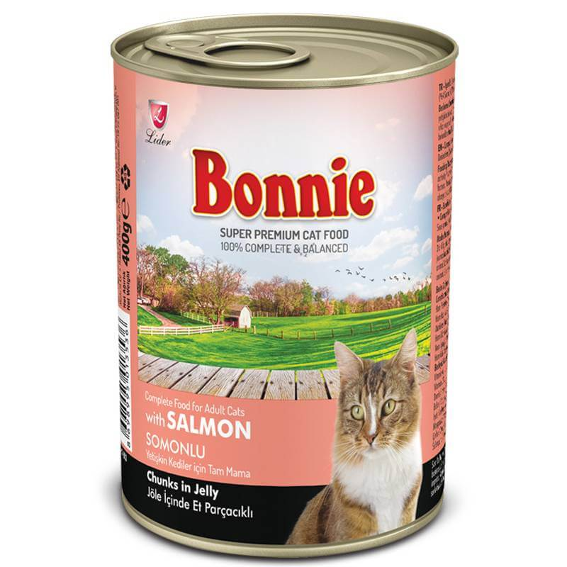 Petsasa Bonnie Salmon Canned Adult Cat Food Chunks in Jelly in Kenya