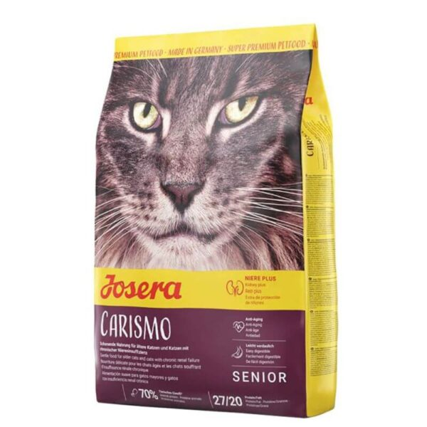 Buy Josera Carismo dry cat food for senior cats in Kenya on Petsasa
