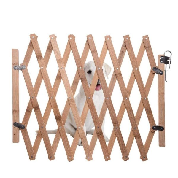 Buy Bamboo Expandable Swing Dog Gate in Nairobi for Royal Pets Petstore Kenya