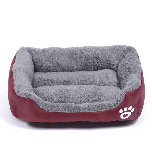 Buy Comfy Fleece Cat & Dog Bed Online in Kenya, Wine Red