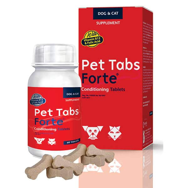 Buy Pet Tabs Forte Vitamin and Mineral Supplement for Dogs & Cats on Petsasa Pet store Kenya