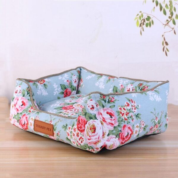 Buy Wild Rose Warm Cat & Dog Bed with Removable Cushion in Nairobi on Petsasa Petstore Kenya