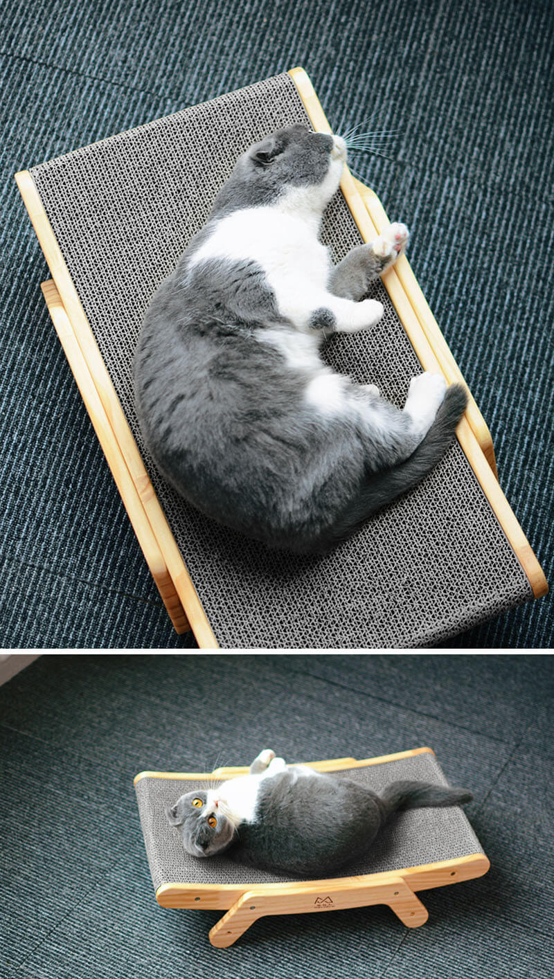 Pawfect Cat Scratching Board Sofa Bed