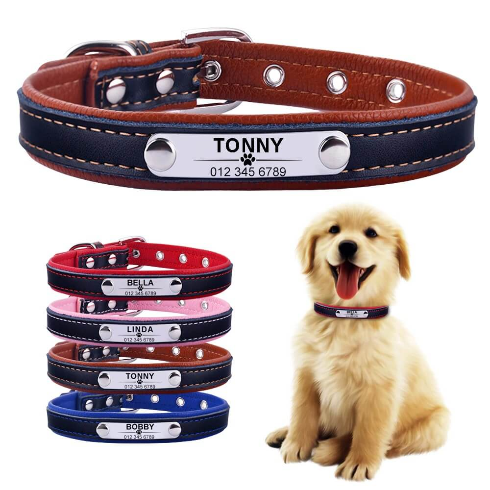 Buy Personalized Reflective Collar for Dogs and Cats, Free Engraving in airobi