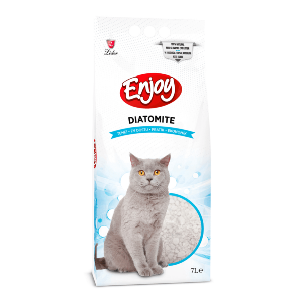 Buy Enjoy Diatomite Non Clumping Cat Litter in Kenya at Petsasa Pet store in Nairobi