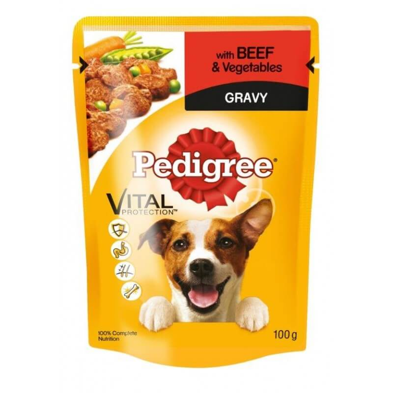 Buy PEDIGREE® Pouch Beef & Vegetable in Gravy in Kenya on Petsasa Pet shop in Nairobi