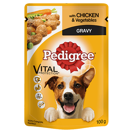 Buy PEDIGREE® Pouch with Chicken and Veg in Gravy Wet Dog Food in Kenya