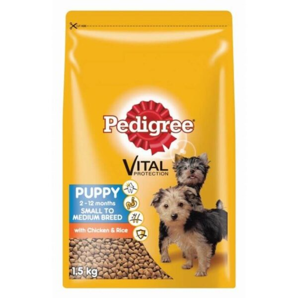 Buy Pedigree Puppy Food for Small to Medium size breed dogs in Kenya here on Petsasa petstore in Nairobi