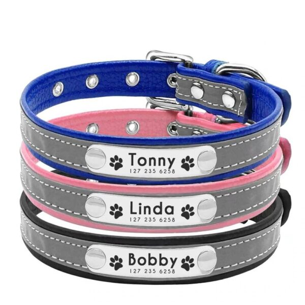 Buy Personalized Reflective Collar for Dogs and Cat in Nairobi Kenya