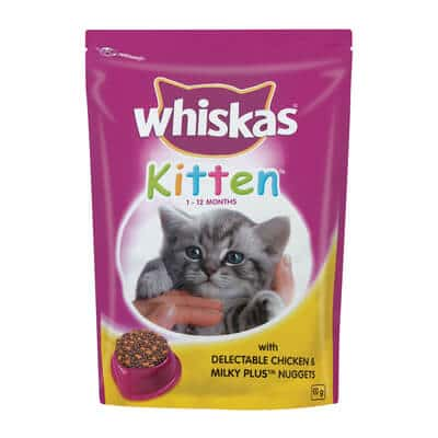 Buy Whiskas Kitten with Delectable Chicken & Milky Plus Kitten Food in Kenya on Petsasa