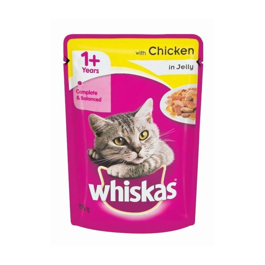 Buy Whiskas Pouch Chicken in Gravy 1+ Year Cat Food in Kenya