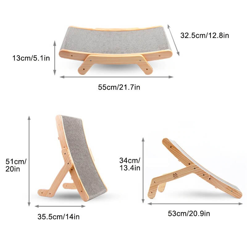 Multi functional Cat Sofa Bed and Cat Scratching
