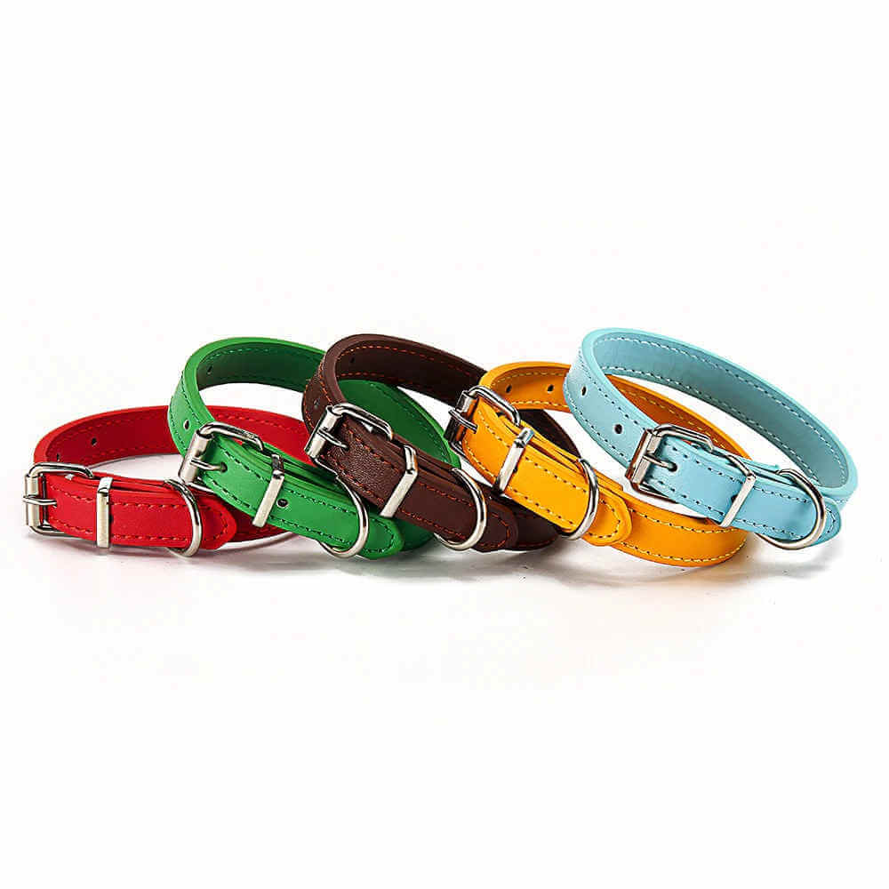 Order Custom Petstar PU Leather Dog Collar for Puppies & Small Dogs in Kenya