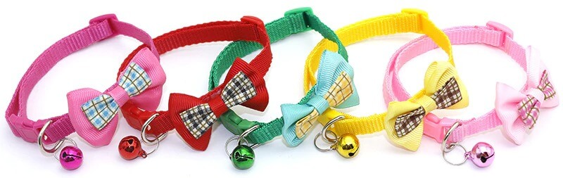 The Best Bowknot Candy Adjustable Cat Collar in Kenya On Petsasa
